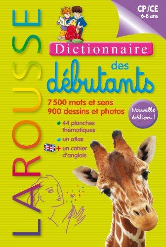9782035862754: Dictionnaire Larousse des débutants - CP/CE 6-8 ans (French Edition)