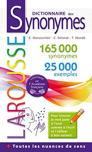 9782035862761: dictionnaire des synonymes poche (French Edition) (Références)