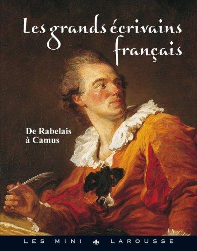 9782035863270: Les grands écrivains français (French Edition)