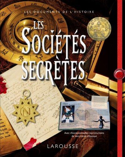 9782035864093: Les sociétés secrètes (French Edition)
