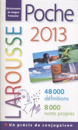 9782035865892: Dictionnaire Larousse de poche 2013 (French Edition)