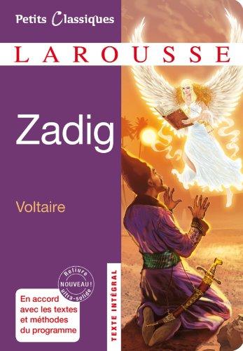9782035866028: Zadig: ou la Destinee (Petits Classiques) (French Edition)