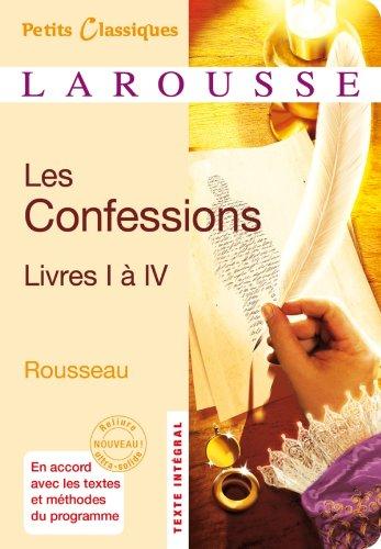9782035867896: Les Confessions, livre I à IV