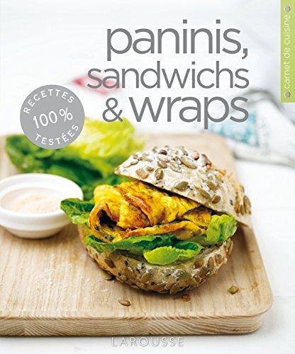 9782035870537: Paninis, sandwichs & wraps (Carnets de cuisine)
