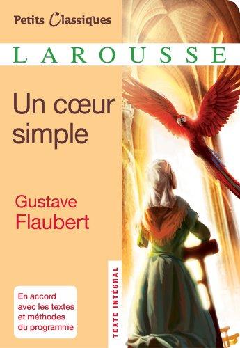 9782035874016: Un coeur simple (Petits Classiques Larousse)