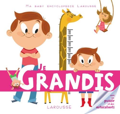 9782035876102: Je grandis (Ma baby encyclopédie)