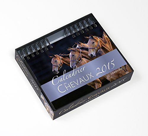 9782035885227: Calendrier des chevaux 2015