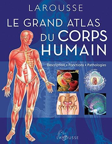 9782035886910: Grand atlas du corps humain : Description, fonctions, pathologies