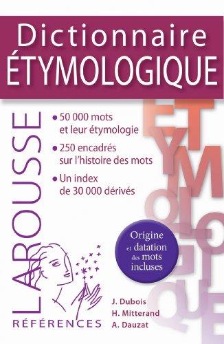 9782035888297: Dictionnaire étymologique