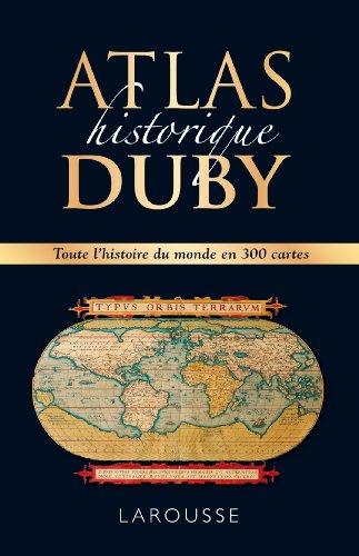 9782035890863: Atlas historique Duby