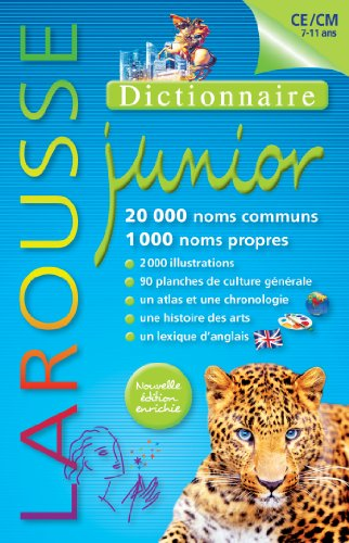 9782035892324: Dictionnaire Larousse Junior 7/11 ans (French Edition)