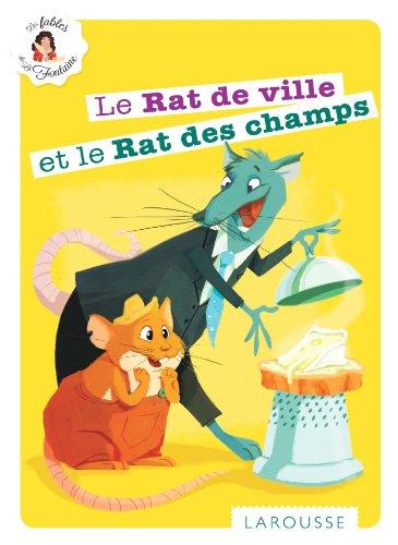 9782035896964: Le Rat de ville et le Rat des champs