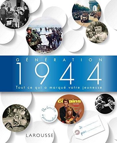 9782035897305: G�n�ration 1944