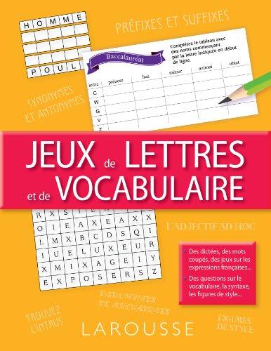 9782035898319: Jeux de lettres et de vocabulaire