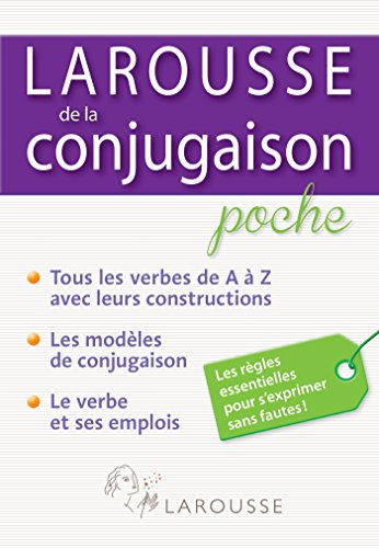 9782035898364: Larousse de la Conjugaison poche (Parascolaire)