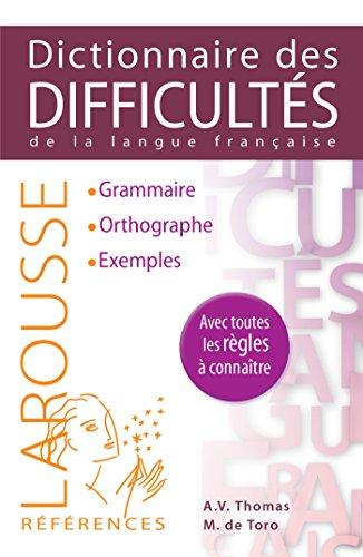 Larousse Dictionnaire des difficultes de la langue francaise (French Edition): Adolphe V. Thomas