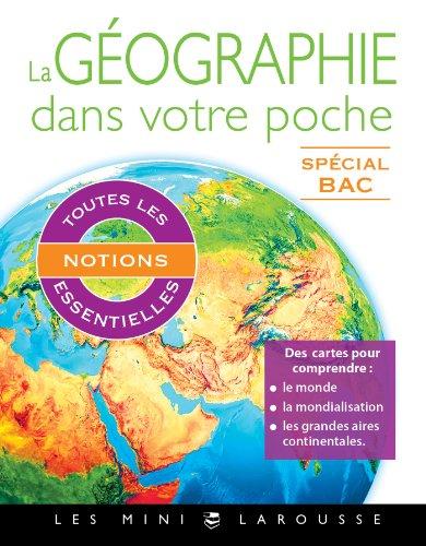 9782035901149: La géographie dans votre poche