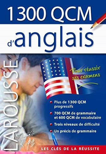 9782035901996: 1300 QCM d'anglais