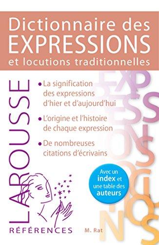 9782035903730: Dictionnaire des expressions et locutions traditionnelles