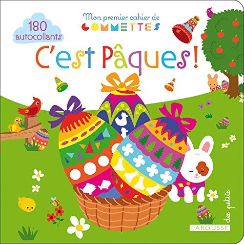 9782035907134: Mon premier cahier de gommettes, C'est P�ques !