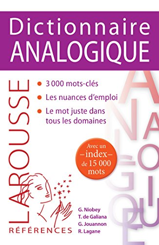 9782035907554: Dictionnaire analogique Robert (French Edition)
