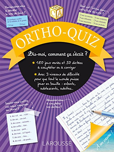 ORTHO-QUIZ: COLLECTIF