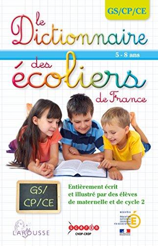 9782035907738: Dictionnaire des écoliers GS/CP/CE