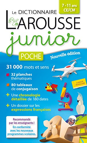 LAROUSSE JUNIOR POCHE: COLLECTIF