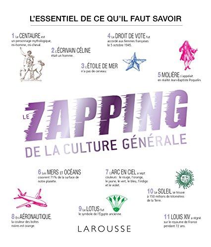 ZAPPING DE LA CULTURE GÉNÉRALE (LE): THOMAZO RENAUD