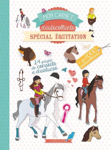 9782035912800: Mon carnet d'autocollants - Spécial équitation