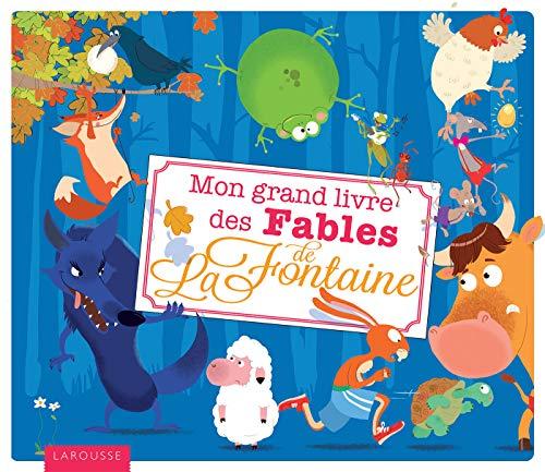 9782035915542: Mon grand livre des fables de La Fontaine (French Edition)