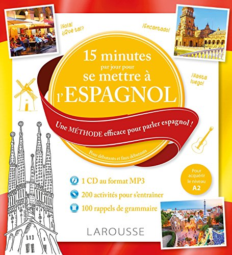 15 MINUTES PAR JOUR POUR SE METTRE À L'ESPAGNOL + CD MP3: COLLECTIF