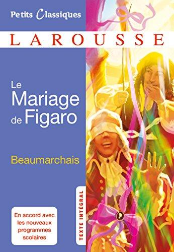 9782035919243: Le Mariage de Figaro (Petits Classiques Larousse)