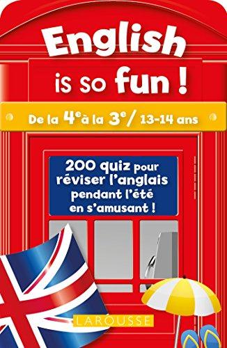 English is so fun (de la 4e: Leclerc, Ch.