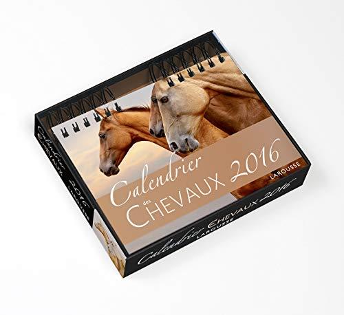9782035922298: Calendrier des chevaux 2016