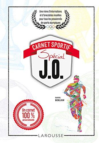 CARNET SPORTIF SPÉCIAL J.O.: BERLION DANIEL