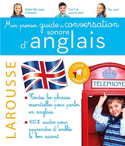 9782035944559: Mon premier guide de conversation sonore d'anglais