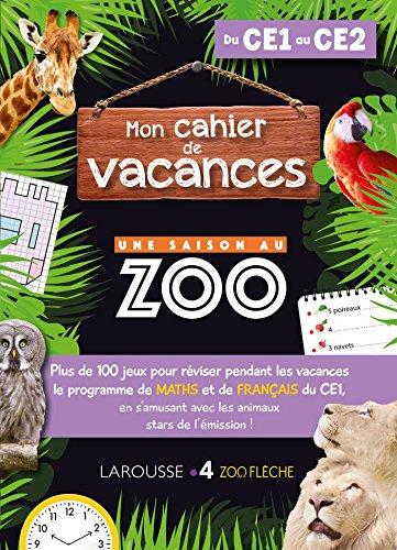 9782035951458: Cahier de vacances UNE SAISON AU ZOO CE1-CE2