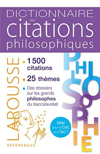 9782035957887: Dictionnaire des citations philosophiques