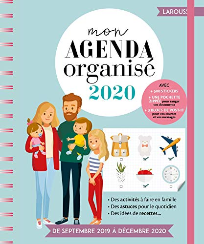 9782035962652: Mon agenda organisé
