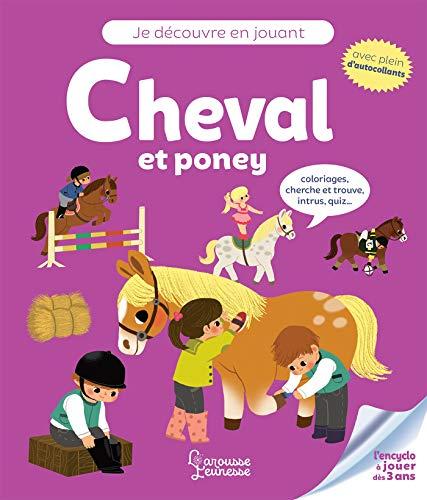 9782035964472: Je découvre en jouant : Cheval et poney