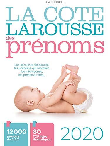 9782035971494: La cote Larousse des prénoms 2020