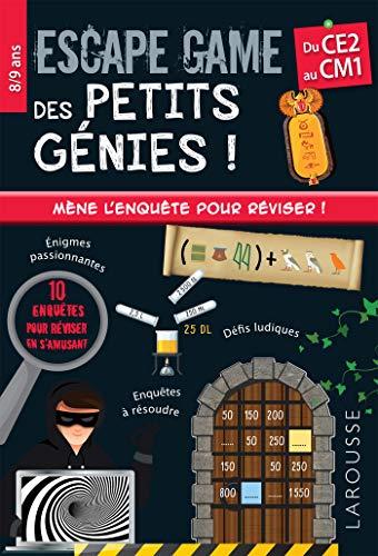 9782035981073: Escape game des petits génies CE2-CM1