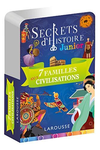 9782035982711: Secrets d'histoire junior - Jeu des 7 familles, Spécial Grandes civilisations