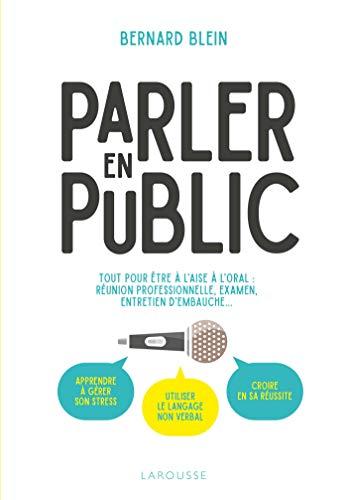 9782035983855: PARLER EN PUBLIC