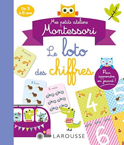9782035985002: Mes petits ateliers MONTESSORI - Le loto des chiffres