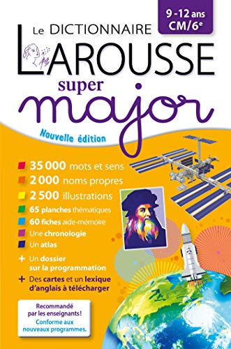 9782035985224: Le dictionnaire Larousse Super major CM/6e
