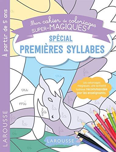 9782035987921: Coloriages magiques mes premières syllabes