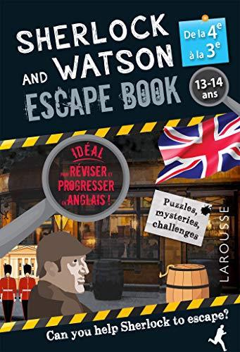 9782035988119: Sherlock Escape book spécial 4e/3e