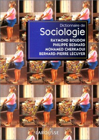 9782037203432: Dictionnaire de sociologie